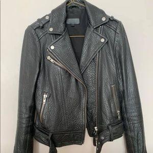 Mackage x Aritzia Rumer leather jacket